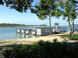 Boat Hire on Noosa River across the road from Red Emperor