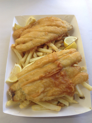 Red emperor fish chips take away restaurant cafe for Terrace fish and chips
